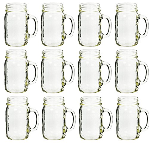 jar drinking glasses - 6