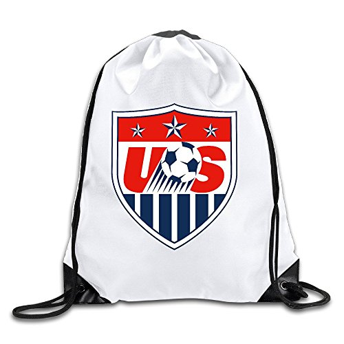 EUNICORN SG US Soccer Snapback Gym Sack Bag Drawstring Backpack Sport Bag - Michael Americas Kors Las