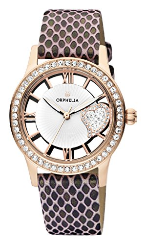 ORPHELIA Ricci Women's Brown Leather watch-OR11705