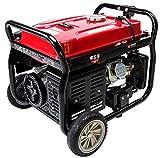 Portable Gas Generator - Merax 4050-Watt 7.0 HP OHV 4 Gallon Gas Powered Portable Generator with Wheel Kit (4050 Watt)