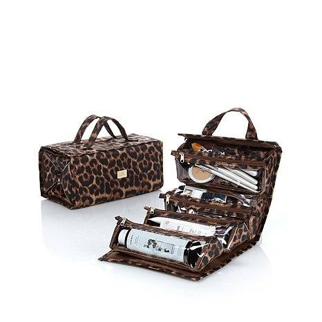 Joy Mangano Beauty Roll Up Travel Organizer Jewelry
