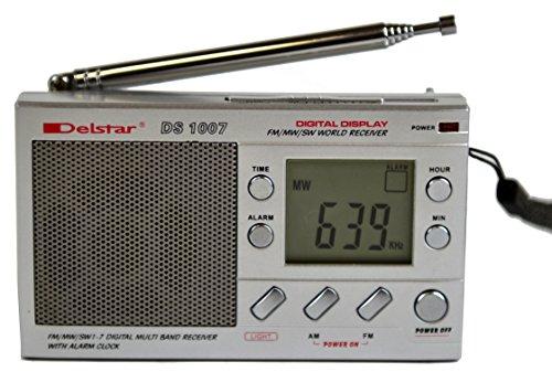 Delstar DS1007 Pocket-size 7-Band AM/FM Shortwave Radio