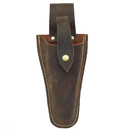QEES - Funda de piel para herramientas de jardinería o alicates, con soporte para cinturón, JDB01