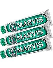 Marvis Tandpasta Classic Strong Mint 85ml, 3er-verpakking (3 x 85ml)