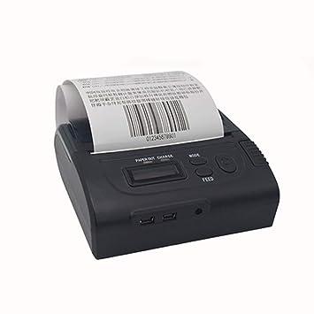 Amazon.com: Impresora de recibos térmica portátil de 3.150 ...