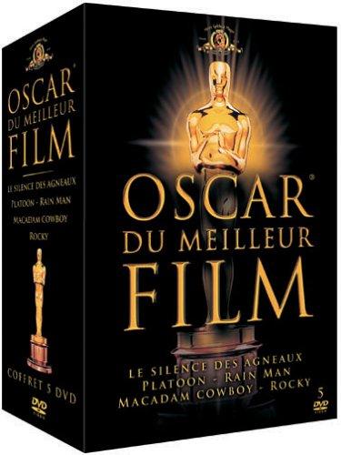 Oscar du meilleur film Vol.1: Le Silence des agneaux / Platoon / Macadam Cowboy / Rain Man / Rocky - Coffret 5 DVD
