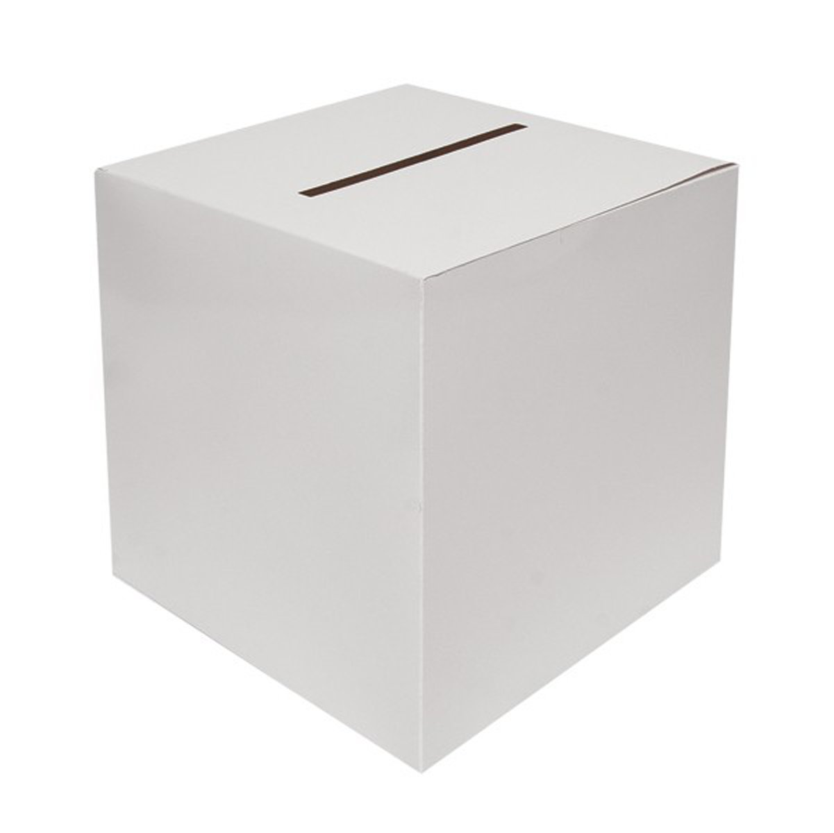 White Wedding Card Boxes 30cms x 30cms x 30cms X38707HNB 56577869435