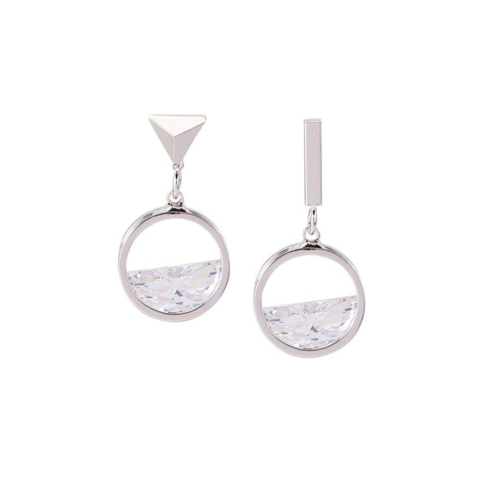 Ling Studs Earrings Hypoallergenic Cartilage Ear Piercing Simple Fashion Earrings Ear Jewelry Sterling Silver Earrings To The Geometry Short Small Earrings
