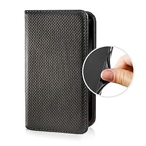 eSPee SZ3c053o tipo libro de piel sintética con tapa de silicona y cierre magnético para Sony Xperia Z3 compact negro
