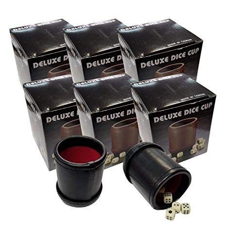 Marion's Bundle of 6 Deluxe Dice Cups [並行輸入品]   B07HLKN3S4