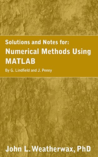 A solution manual and notes for numerical methods using matlab by g a solution manual and notes for numerical methods using matlab by g lindfield and fandeluxe Choice Image