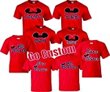 Mom, Dad, Son, Daughter, Big/Little Brother/Sister Family funny Matching T-Shirts! (M Adult, Mom)
