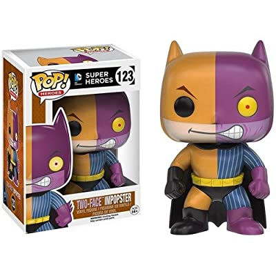 Funko POP Heroes Villains as Batman Two-Face Action Figure: Funko Pop! Heroes:: Toys & Games