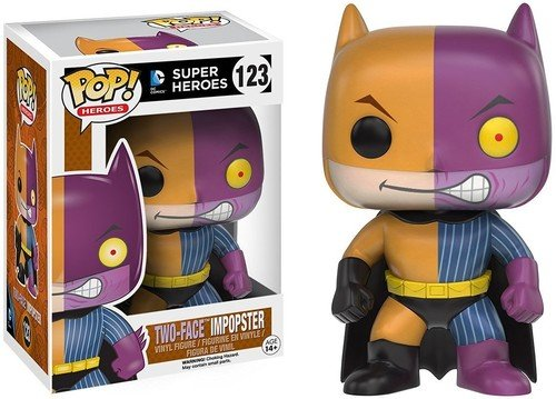 Funko POP Heroes Villains as Batman Two-Face Action Figure ()