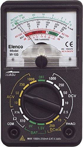 Elenco Analog Multimeter - Best Pocket Multimeter