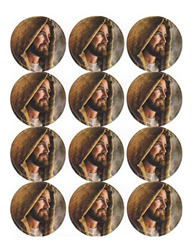 Jesus Christ Stickers - 72 Count - Acid Free - 1