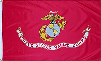 Image result for MArine flag flies outside home