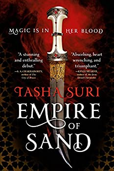 Empire of Sand by Tasha Suri science fiction and fantasy book and audiobook reviews