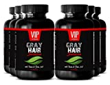 Nettle Root - Gray Hair Solution - Gray hair supplements (6 Bottles 360 capsules)