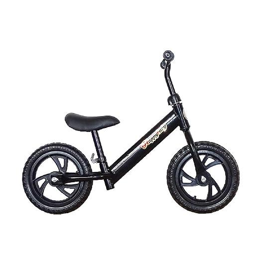 WOLJW Bicicleta de Equilibrio para niños sin Pedal, 2-6 años ...