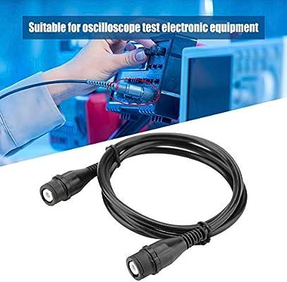 Cable de prueba de osciloscopio, conector macho BNC P1202 a conector macho BNC Cable coaxial Cable coaxial BNC a BNC, accesorios de osciloscopio: Amazon.es: Industria, empresas y ciencia