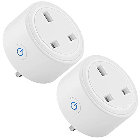 Google Home and IFTTT Smart Plug AISIRER WiFi Smart Socket Compatible with Alexa UK Plug 13A App Remote Control and Timer Function No Hub Required Alexa Plugs with Energy Monitoring