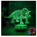 Gift Ideas Night Lights 3D Illusion Lamp Animal Light Led Desk Lamps Unique Gifts for Baby Home Decor Office Bedroom Wedding Party Decorations Nursery Lighting 7 Color