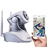 Security Camera Wireless by GT ROAD, Home Video Security Surveillance Camera System, Wifi Ip Camera with 960P HD, Night version, Motion detector, Two-