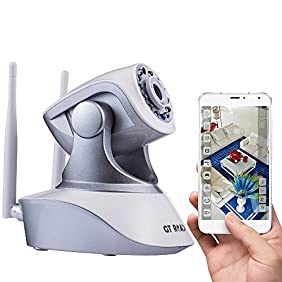 Security Camera Wireless by GT ROAD, Home Video Security Surveillance Camera System, Wifi Ip Camera with 960P HD, Night version, Motion detector, Two-way Audio