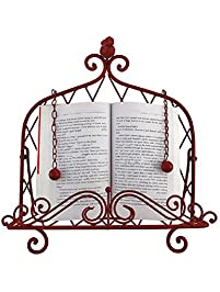 decorative metal cookbook stand - Recipe Book Holder