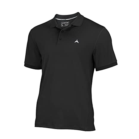 bd9206983b Arctic Cool Men's Instant Cooling Short Sleeve Polo Performance Tech  Breathable UPF 50+ Sun Protection Moisture Wicking Comfortable Golf Quick  Drying ...