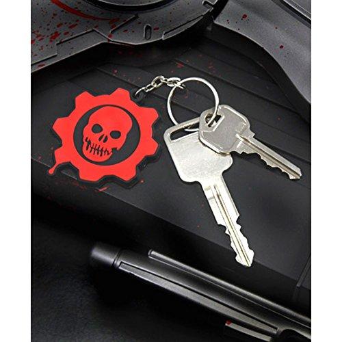 NECA Gears War Keychain Crimson