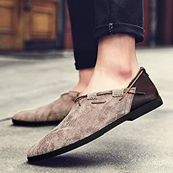 LOVDRAM Zapatos De Hombre Primavera Zapatos De Guisantes