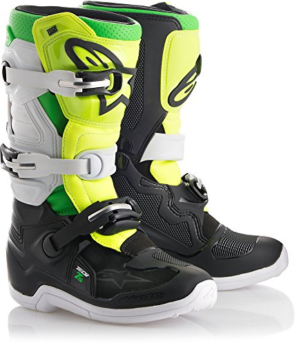 Alpinestars Tech 7S Prodigy Youth Motocross Off-Road Motorcycle Boots, Size -