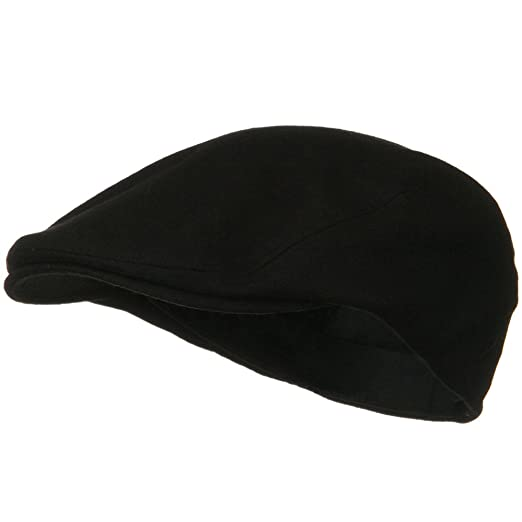 MG Men s Wool Ivy Newsboy Cap Hat (Black) 757a1da13f1f