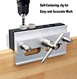 YOTOO Self Centering Doweling Jig Kit, Drill Guide