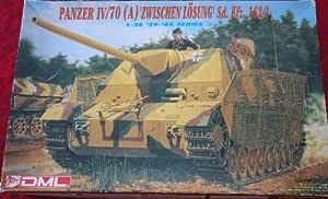 Dragon Panzer Iv/70 (A) Zwischen Losung Sd. Kfz 162/1 1:35 Scale by Panzer IV tank