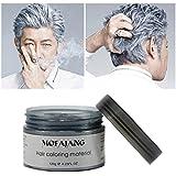 EZGO Professional Hair Color Wax Natural Ash Matte Long-lasting...