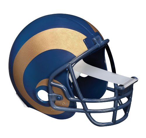 (Scotch Magic Tape Dispenser, St Louis Rams Football Helmet with 1 Roll of 3/4 x 350 Inches Tape)