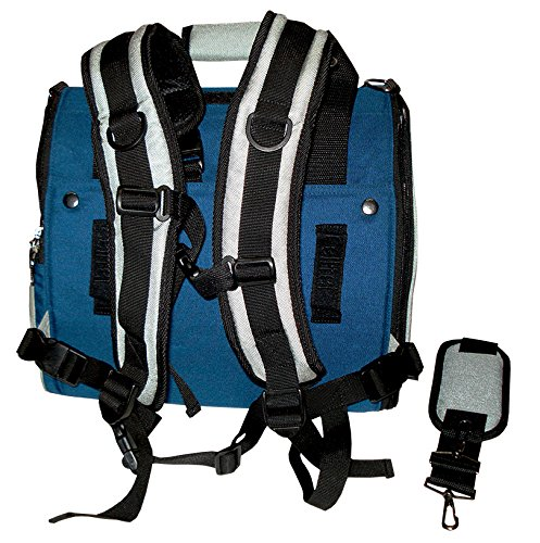 [해외]Celltei Backpack-o-Pet - Cordura (R) Blue & amp; /Celltei Backpack-o-Pet - Cordura(R) Blue & Light Grey - Small Size
