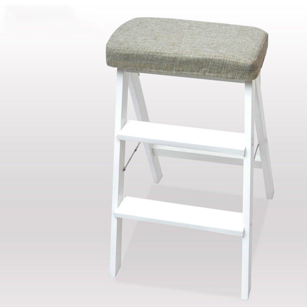 はしご便 折り畳み式はしごの椅子キッチンステップスツールシート多機能ポータブル家庭高木製のベンチ ( サイズ さいず : Style 2 ) B07CL2R6MV Style 2Style 2