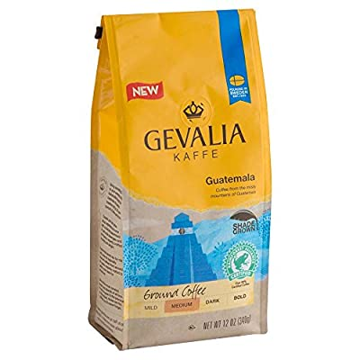 Gevalia Guatemala Coffee, Medium Roast, Ground, 12 Ounce Bag