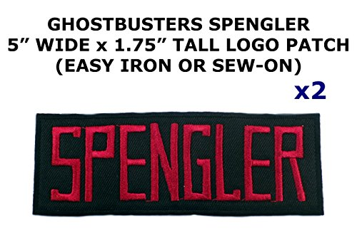 Diy Wonder Woman Costumes (2 PCS Spengler Ghostbusters Theme DIY Iron / Sew-on Decorative Applique Patches)