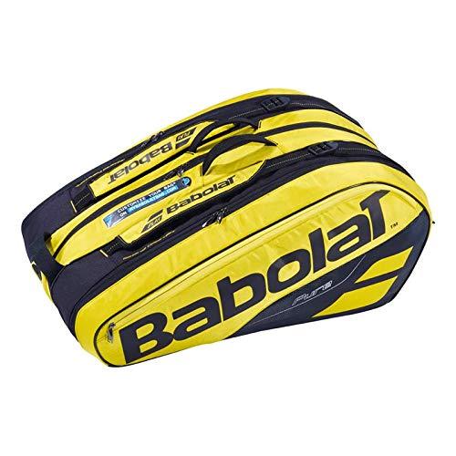 Babolat Pure Aero Black/Yellow RHx12 Tennis Bag