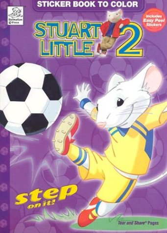 Stuart Little 2 Sticker Book To Color 9781577596479 Amazon Books