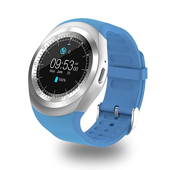 Nessere Fashion Casual Round Touch Screen Smart Sport Watch for Android Smart Watches
