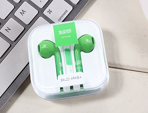 in-Ear Stereo Headphones - Limited World Cup Eddition - Saudi Arabia