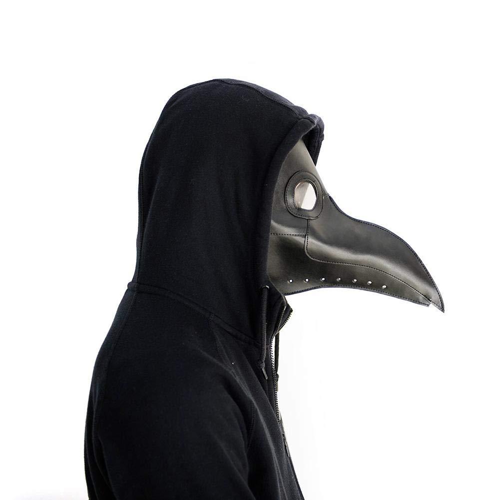 gaeruite Steampunk Medico della Peste Uccello Testa Maschera Completa Maschera Naso Lungo Becco Cosplay per Costume Halloween Party