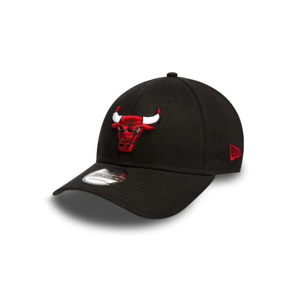 9Forty Chicago Bulls Cap New Era cap base cap Black One Size 11394807