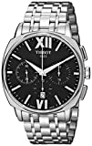 Tissot Men's  'Veloci-T' Black Dial Stainless Steel Chronograph Automatic Watch T059.527.11.058.00